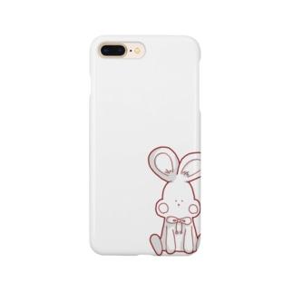 可愛いうさぎ Smartphone cases