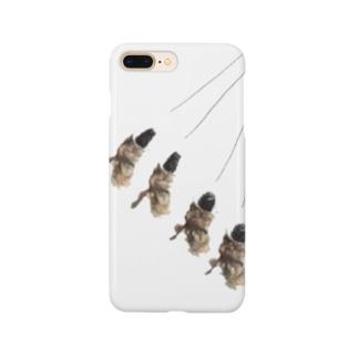 振り子的蓑虫。 Smartphone cases