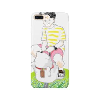 スイング遊具とボク Smartphone cases