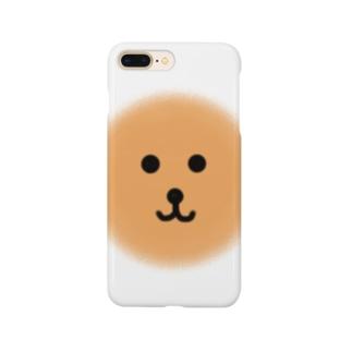 ふんわり犬 Smartphone cases