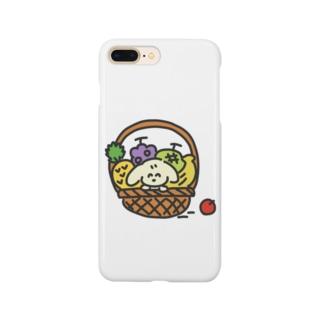 フルーツ犬 Smartphone cases