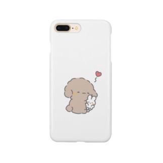 イヌのばぶぅちゃん Smartphone cases