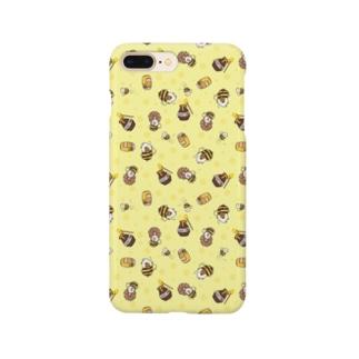 ミツバチモルモット01 Smartphone cases