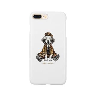 autumn dog Smartphone cases