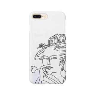うっきょ ふじよ Smartphone cases