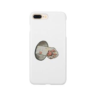 もふもふの手🐾こたんズ。 Smartphone cases