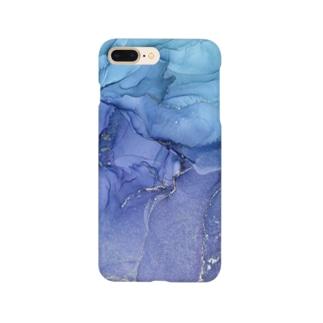 持ち歩けるアルコールインクアート Smartphone cases