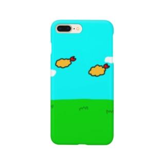 フライングエビフライ Smartphone cases