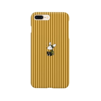 [Rabit]スマホケース(黄)[複数機種] Smartphone Case