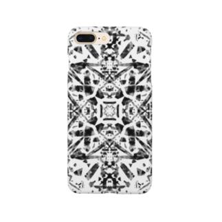クラウン(黒ver) Smartphone cases