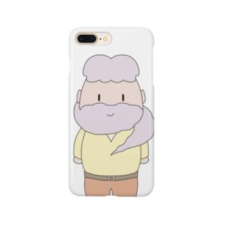 ヒゲマフラー Smartphone cases