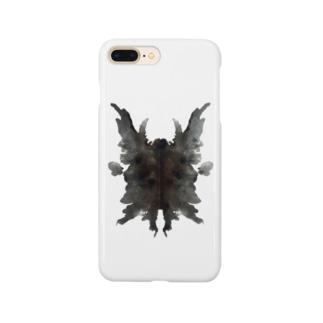 インクのシミは何を表す?(黒) Smartphone cases