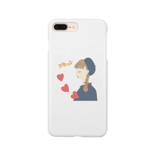 レトロガールズのズキュン Smartphone cases