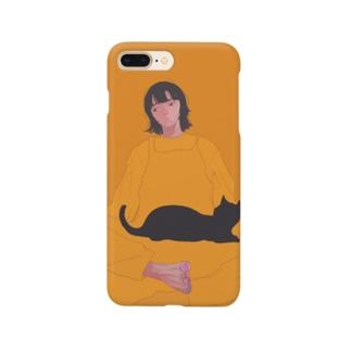 物思いさん Smartphone cases