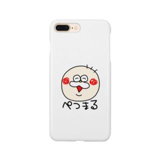 ぺつまる Smartphone cases
