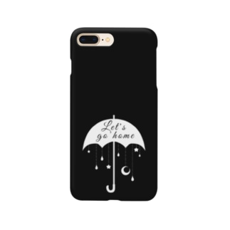 帰ろうか モノクロ2 Smartphone cases