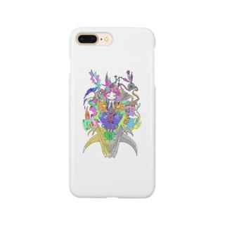鶴百合とカラフルな人生 Smartphone cases