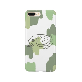 森色コブシメちゃん Smartphone cases