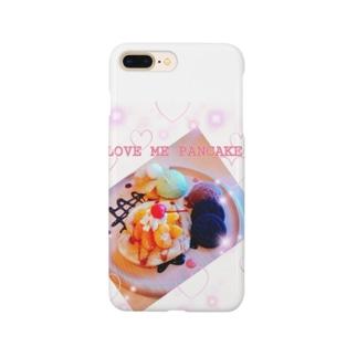 パンケーキ食べたいなぁ♪ Smartphone cases