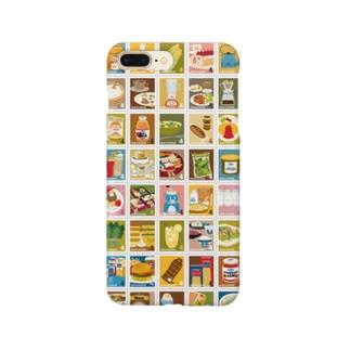 キャトル切手シート_食べ物01 Smartphone Case