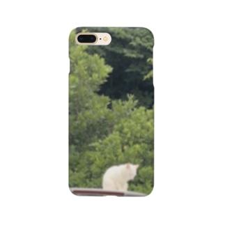みんな平和にいこうよ ネコの休日 Smartphone cases