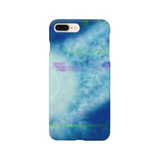見ないで書いた天気図 Smartphone cases