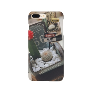 ROUTE66×サボテン Smartphone Case