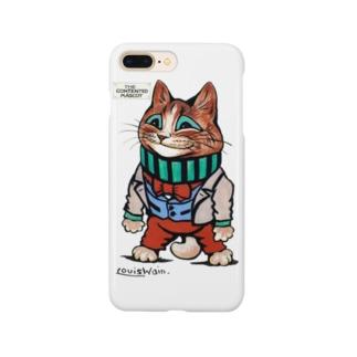 ルイス・ウェインのネコ Smartphone cases