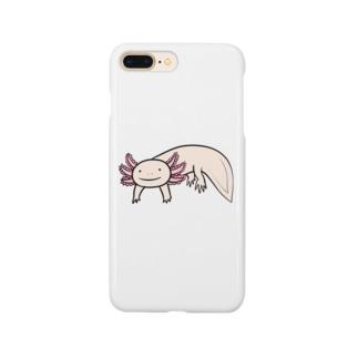 かわいいウーパールーパー Smartphone cases
