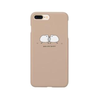 エクササイズ文鳥(反復横跳び) Smartphone cases