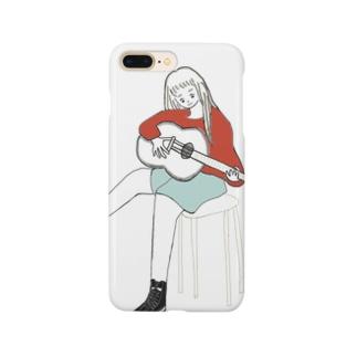 弾き語りちゃん Smartphone cases