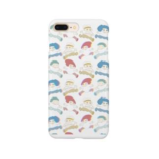 まどろみちゃんコラボ Smartphone cases