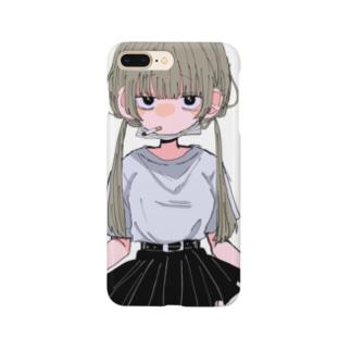 桜井すう@有償依頼受付中ですのヤニカス少女 Smartphone cases