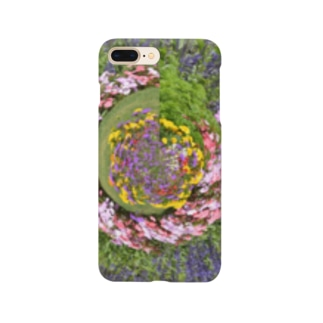 ぐるぐる花々 Smartphone Case