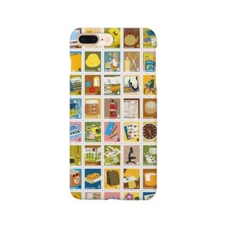 キャトル切手シート_学習01 Smartphone cases
