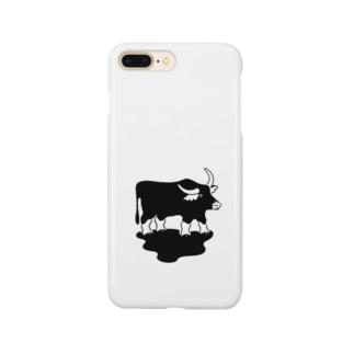 スイギュウのグッズ Smartphone cases