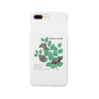 アカボシゴマダラとエノキ Smartphone cases