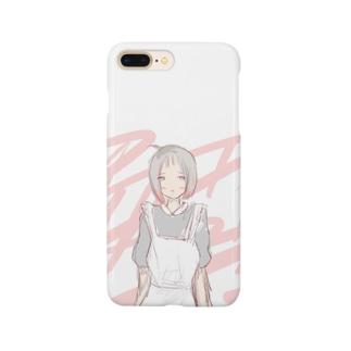 やさぐれメイドさん Smartphone cases