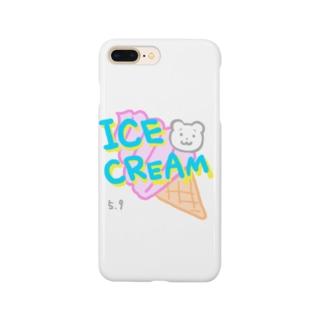 アイスクリームの日 Smartphone cases