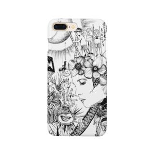 マーキュロ Smartphone cases