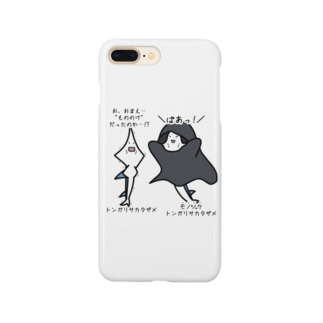 あぽ部屋の物の怪なモノノケトンガリサカタザメ Smartphone cases