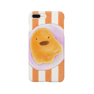 iPhoneケース ハロウィンおばけパン Smartphone cases