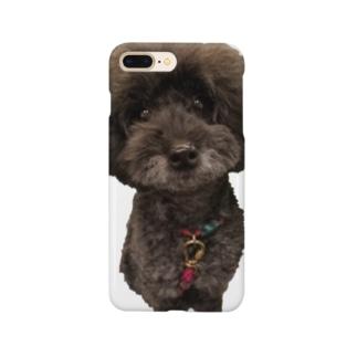お座りヒュー Smartphone cases