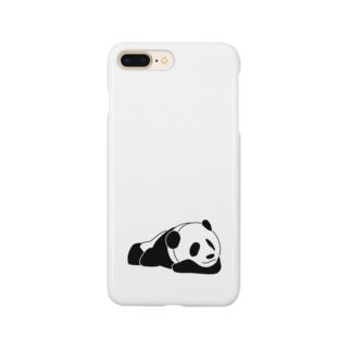 おやすみパンダ Smartphone cases