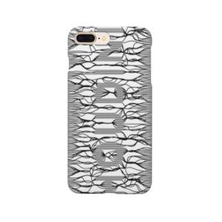 束波 / たばなみ (黒,縦) Smartphone cases