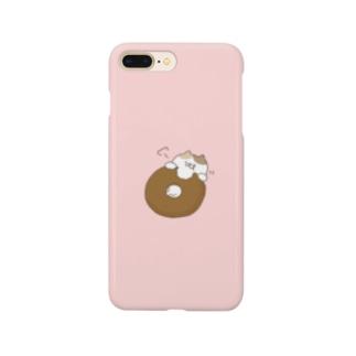 【色々にゃんことドーナツ】スマホケース Smartphone cases