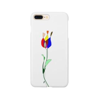 チューリップ(遺伝子組み換えでない) Smartphone cases