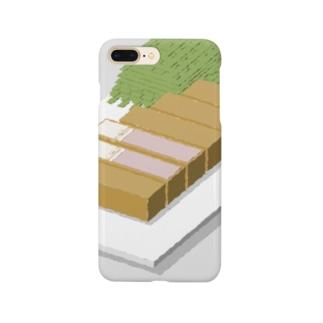 TKMTS STOREの几帳面なトンカツ Smartphone cases
