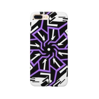 ギア(パープル) Smartphone cases