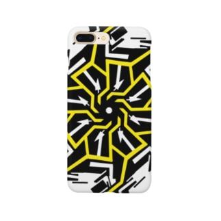 ギア(イエロー) Smartphone cases